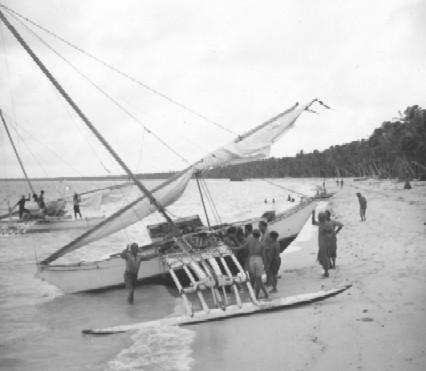 Exhibit Marshallese Canoes