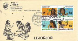 Alele Postal Sub-Station First Day Cover - Lejonjon